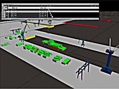 Рис. 10. Виртуальное моделирование верфи Hellenic Shipyards в Греции (рисунок Deltamarin)