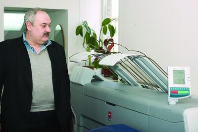 Игорь Борисович Осицимский, заведующий группой оформления и выпуска проектной документации НИиПИ Генплана города Москвы