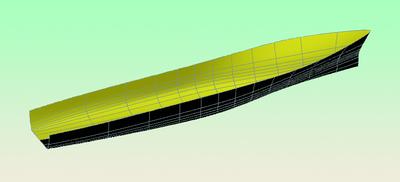 Рис. 1. Построение судовой поверхности