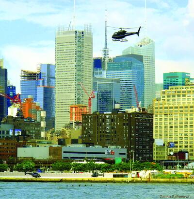 Рис. 1. Застройка в одном из районов Нью-Йорка (2009 г.)