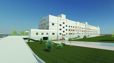 Здание роддома. Вид с улицы Адмирала Макарова