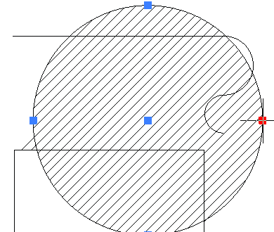 Рис. 8. Ассоциативная штриховка после изменения границ