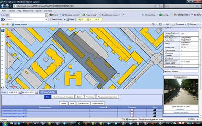 Рис. 4. Детализация информации по имущественному комплексу