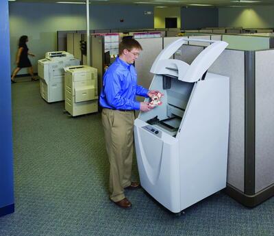 ZPrinter 250 в офисе
