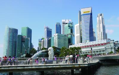 Рис. 12. Маленький Сингапур давно уже стал местом, где внедряются самые современные строительные технологии