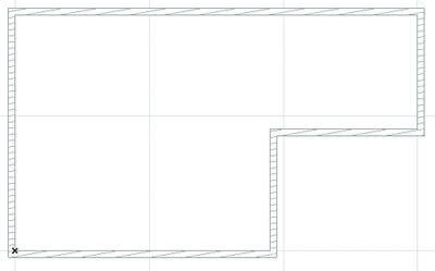 Рис. 12. Отрисовываем геометрию здания
