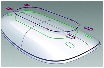 Рис. 5. Комбинирование 2D- и 3D-геометрии