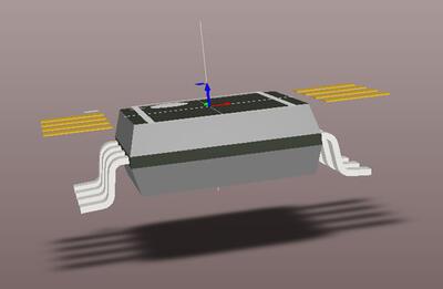 Рис. 32. Перемещение STEP-модели в начало координат