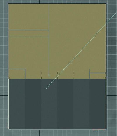 рис. 4 Вид очищенного файла ракурса