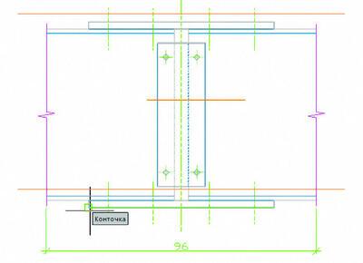 Рис. 5. В nanoCAD 3.0 реализована привязка к объектам видового экрана, что позволяет дооформить чертежи в пространстве листов под нужный масштаб