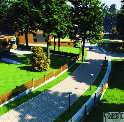 Проект жилого поселка в районе деревни Сосновка