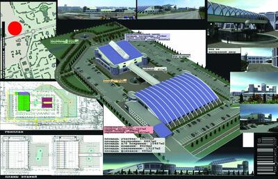 Эскизное предложение по размещению торгово-развлекательного комплекса «Кора» в Новоильинском районе Новокузнецка