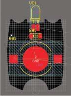 Рис. 76. Расположение компонентов по заданным координатам