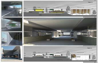 Конкурсный проект: лицей в г. Никосия Фото: © Koutsoftides Architects совместно с архитектором Христосом Константинидесом (Christos Constantinides)