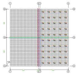 Рис. 1. Общая структура расчетной области