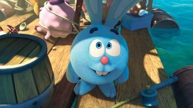 Энергичный непоседа кролик Крош