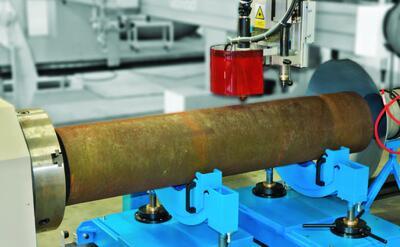 Рис. 4. Машина фирмы Vanad, предназначенная для резки труб