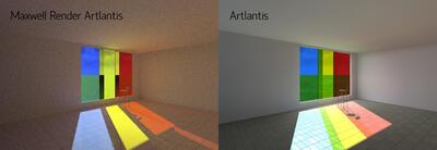 Maxwell Render Artlantis и стандартный Artlantis