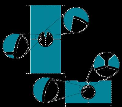 Рис. 4. Неполный контакт трубной заготовки с формовочными валками стана вследствие ее чрезмерного обжатия по периметру в клети P05