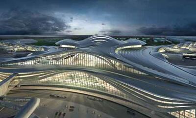 Проект аэропорта в Абу-Даби (Объединенные Арабские Эмираты)