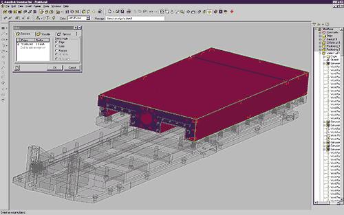 Autodesk Inventor изначально ориетирован на работу с большими сборками...