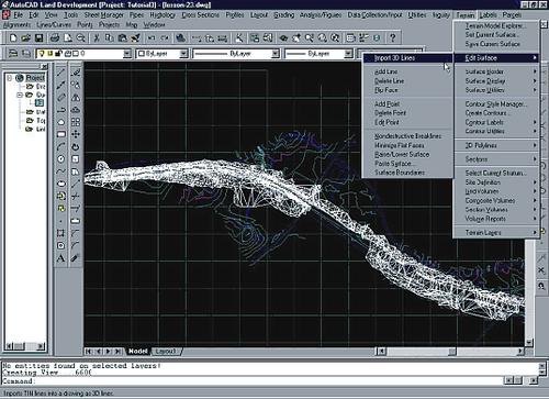 На отечественном рынке появился новый программный комплекс - AutoCAD Land Development Solutions Release 2