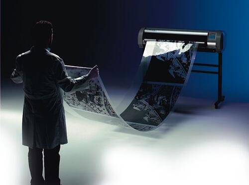 Изготовление фотоформ вполне по силам плоттеру