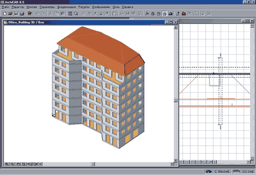 Проект «Ofice Building» в