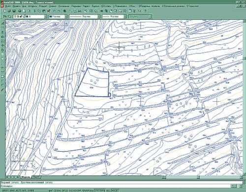 ЦММ (Цифровая Модель Местности) - основа для проектирования дороги