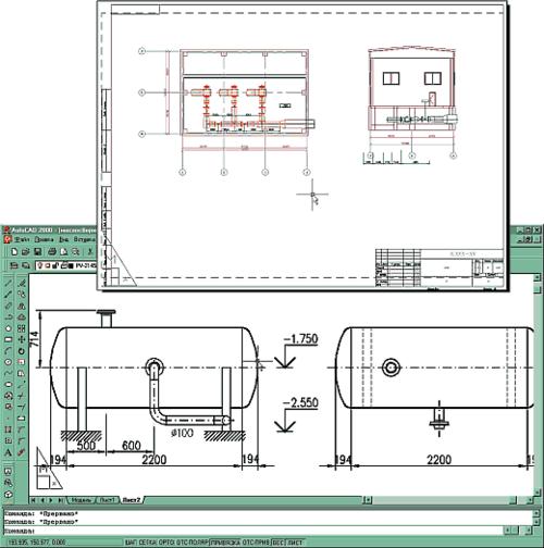 Рис. 6. На основе созданной в PLANT-4D модели можно выпустить полный комплект сборочных монтажно-технологических чертежей