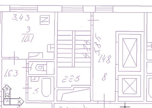 Рис. 3. Векторное изображение, полученное в результате векторизации отрезками