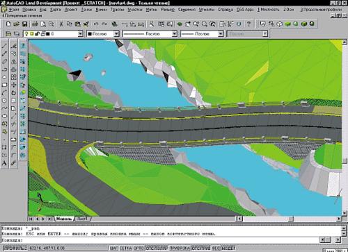 Визуализация проекта, созданного в PLATEIA