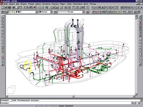 В 1996 году инженеры ПКБ приступили к разработке и внедрению приложения для трехмерного моделирования трубопроводов
