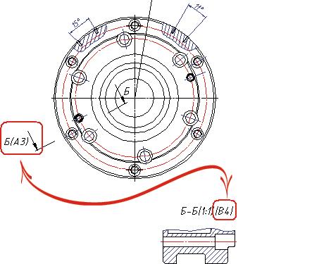 Обновленная информация о зонах после переноса вида