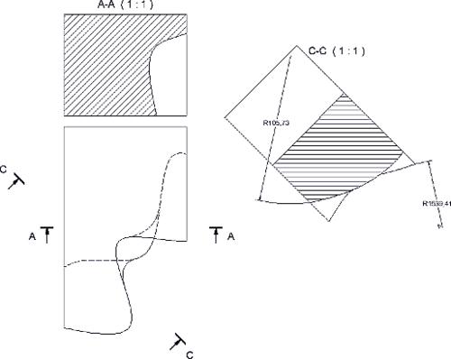 После импорта IGES NURBS-поверхности можно использовать в операциях твердотельного проектирования