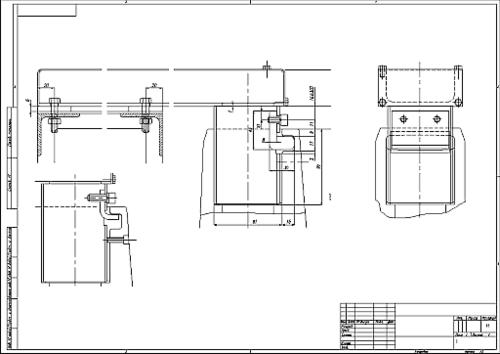 Помимо стандартных машиностроительных инструментов оформления чертежей, Inventor R5 предлагает возможность импорта отдельных видов чертежа из AutoCAD, импорта размерных и текстовых стилей, использование форматов и обозначений, созданных в AutoCAD. Таким образом можно обеспечить непрерывную поддержку стандарта предприятия при работе в различных системах проектирования