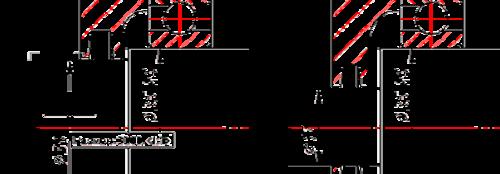 Изменим диаметр участка вала под уплотнение с 30 мм на 17 мм (иллюстрация слева); Типоразмер запорной крышки автоматически изменен на другой из стандартного ряда крышек (иллюстрация права)