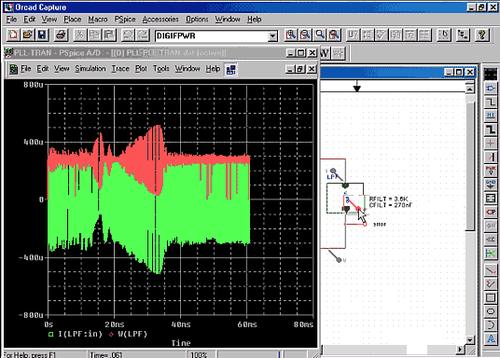 Семейство модулей PSpice обеспечивает полнофункциональное моделирование электронных устройств