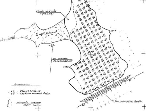 Рис. 1. Исходный промер глубин