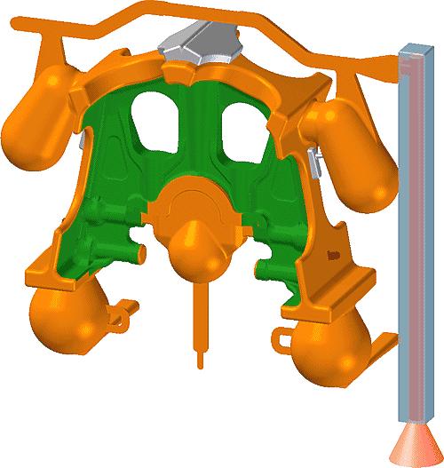 Рис. 3. Сборочная технологическая модель