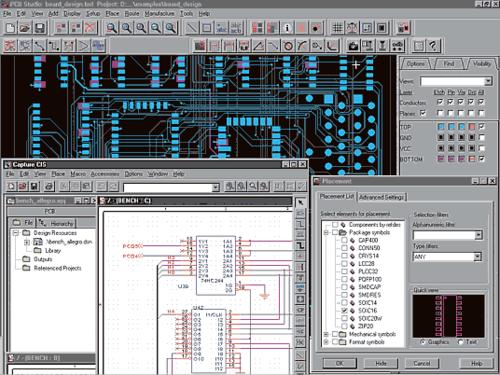 PCB Design Studio предоставляет все инструменты, необходимые для проектирования и производства высококачественных печатных плат