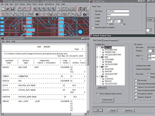 Allegro PCB делает простым получение любых необходимых вам данных