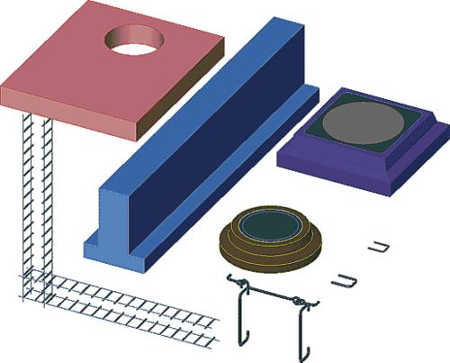 Стандартные компоненты, используемые при создании библиотек