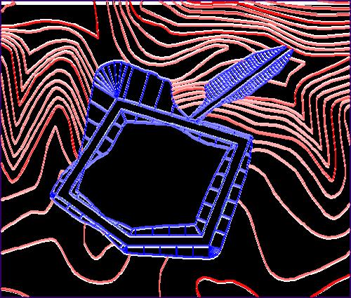 Площадка с подъездом