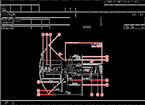 Рис. 3. Использование эскизов при проектировании технологии и в документации