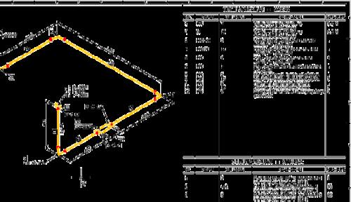 Рис. 2. Базовая форма монтажных изометрий