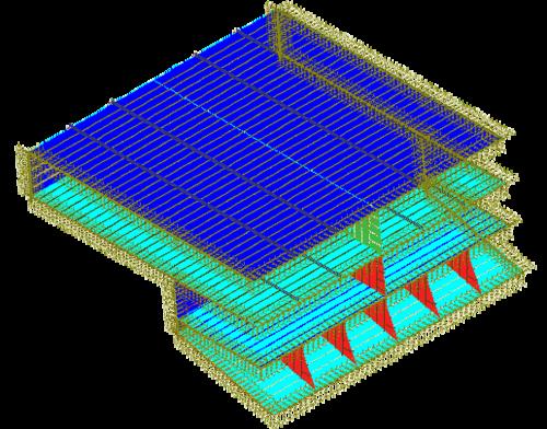 Рис. 1. Общий вид модели спонсона