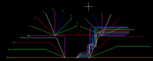 После получения первого варианта развертки, а в нашем варианте он заведомо неидеальный, необходимо провести проектировочный расчет процесса формообразования