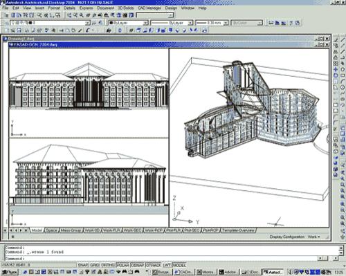 Концепция отеля в Магнитогорске: каркасное представление модели, фасад здания