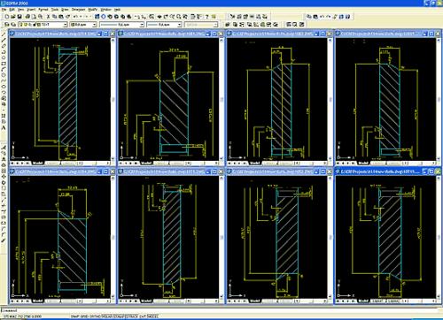 В папке чертежей проекта получаем все требуемые деталировочные и сборочные чертежи. При необходимости редактируем их средствами AutoCAD или AutoCAD+MechaniCS